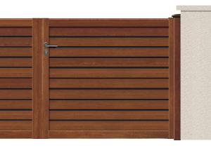 GAMME ASPECT BOIS - Porte et portillon FOCUS