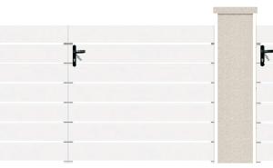 PORTE PIVOTANTE - 01. Porte et portillon TRIOLET