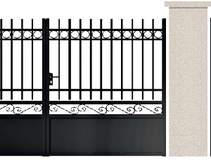 PORTE PIVOTANTE - 04. Porte et portillon BEAUMONT