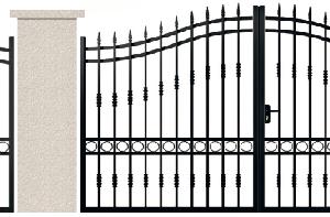 PORTE PIVOTANTE - 07. Porte et portillon MARIVAUX