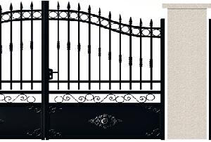 PORTE PIVOTANTE - 11. Porte et portillon MONTESQUIEU
