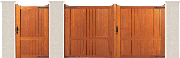 bois garapa du bresil porte et portillon vexin bologne. Black Bedroom Furniture Sets. Home Design Ideas
