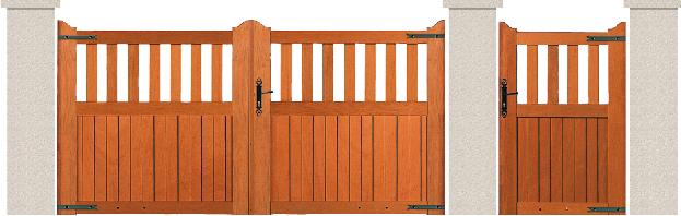 bois garapa du bresil porte et portillon royan bologne. Black Bedroom Furniture Sets. Home Design Ideas