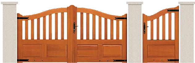 bois garapa du bresil porte et portillon s ville bologne. Black Bedroom Furniture Sets. Home Design Ideas