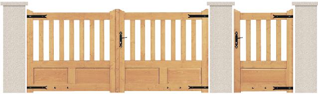 bois sapin du nord porte et portillon olivine bologne. Black Bedroom Furniture Sets. Home Design Ideas