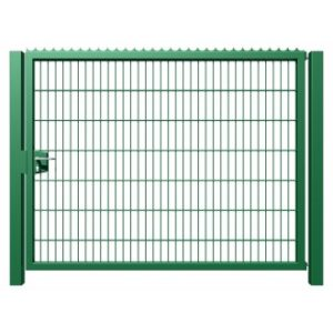 """Porte ˆ barreaux type """"G"""" -> GalvanisŽ / PlastifiŽ - Porte G REMPLISSAGE TREILLIS SOUDE simple et double battant KOPAL"""