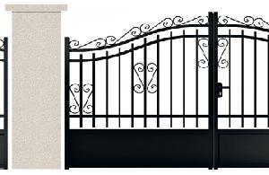 PORTE PIVOTANTE - 05. Porte et portillon LA BOETIE