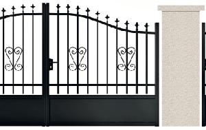 PORTE PIVOTANTE - 06. Porte et portillon MELVILLE