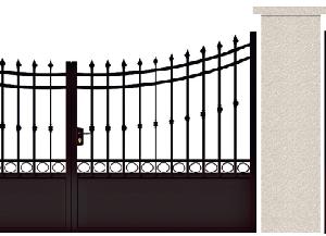 PORTE PIVOTANTE - 09. Porte et portillon BEAUMARCHAIS