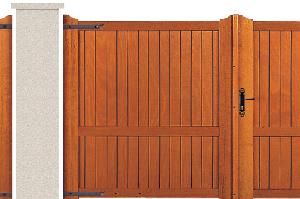 PORTE PIVOTANTE - Garapa - 05. Porte et portillon VEXIN