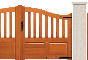 PORTE PIVOTANTE - Garapa - 07. Porte et portillon SEVILLE