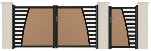 GAMME DECO - Porte et portillon SAINT-MAXIME