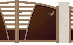 GAMME DECO - Porte et portillon ASCOT