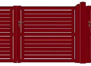GAMME CONTEMPORAIN - Porte et portillon LENTO