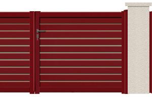 GAMME CONTEMPORAIN - Porte et portillon FOCUS