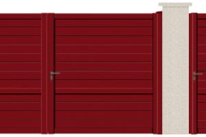 GAMME CONTEMPORAIN - Porte et portillon CONDORCET