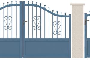 GAMME TRADITION REVISITEE - 02. Porte et portillon DUFOUR