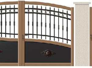 GAMME TRADITION REVISITEE - 07. Porte et portillon SAINT-GOTHARD