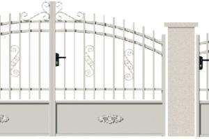 GAMME TRADITION - 01. Porte et portillon PRUD'HON