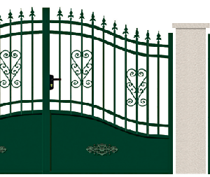 GAMME TRADITION - 02. Porte et portillon RAFFET
