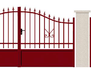 GAMME TRADITION - 03. Porte et portillon MEDICIS