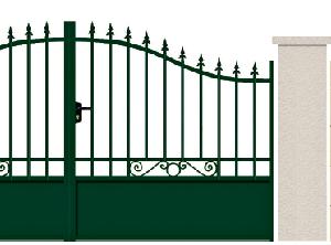 GAMME TRADITION - 04. Porte et portillon LORRAIN