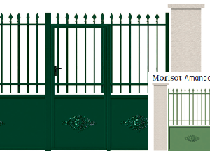 GAMME TRADITION - 06. Porte et portillon MORISOT