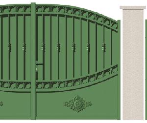 GAMME TRADITION - 07. Porte et portillon DAUBIGNY