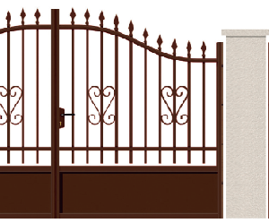 GAMME TRADITION - 08. Porte et portillon CASTIGLIONE