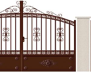 GAMME TRADITION - 11. Porte et portillon INGRES