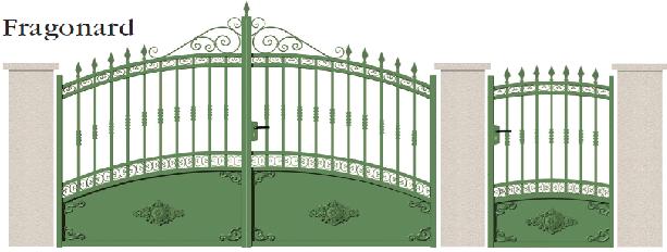 GAMME TRADITION - 13. Porte et portillon FRAGONARD